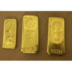 Житель немецкого города сдал в бюро находок 2,5 кг золота