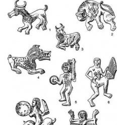 Велестинский клад. Фигурки из Велестино.
