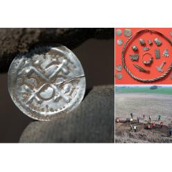 В Германии откопали ценнейший клад времен короля викингов Харальда I Синезубого